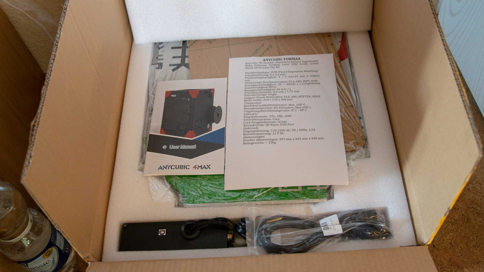 The Anycubic 4max 3d Printer Electronic Telescope